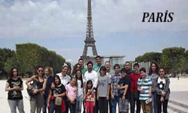 Çağlar Müzik Kursu Akardo Decibel M. Okulu ile Paris Yaz Kampı